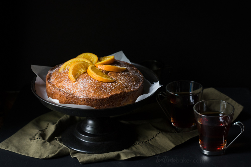 Enjoy a slice of Orange Madeira Cake with a cup of tea | Teatime Recipes | English Cake Recipe