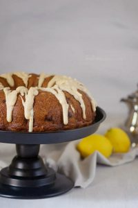 Summer bundt cake filled with blueberries and bursting with flavor | Lemon Cake Recipe