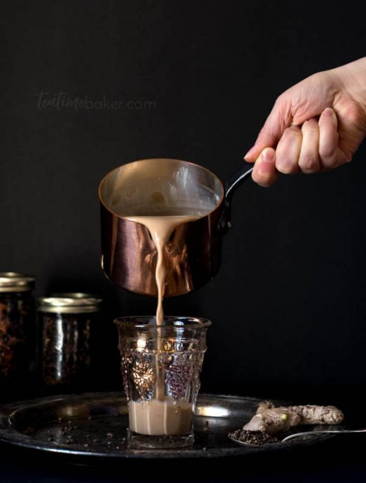 Homemade spiced chai is the perfect cup of tea for chilly autumn evenings   Tea Recipe