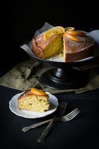 Enjoy a slice of Orange Madeira Cake topped with a tasty cinnamon rum glaze   Teatime Recipes   British Cake Recipe