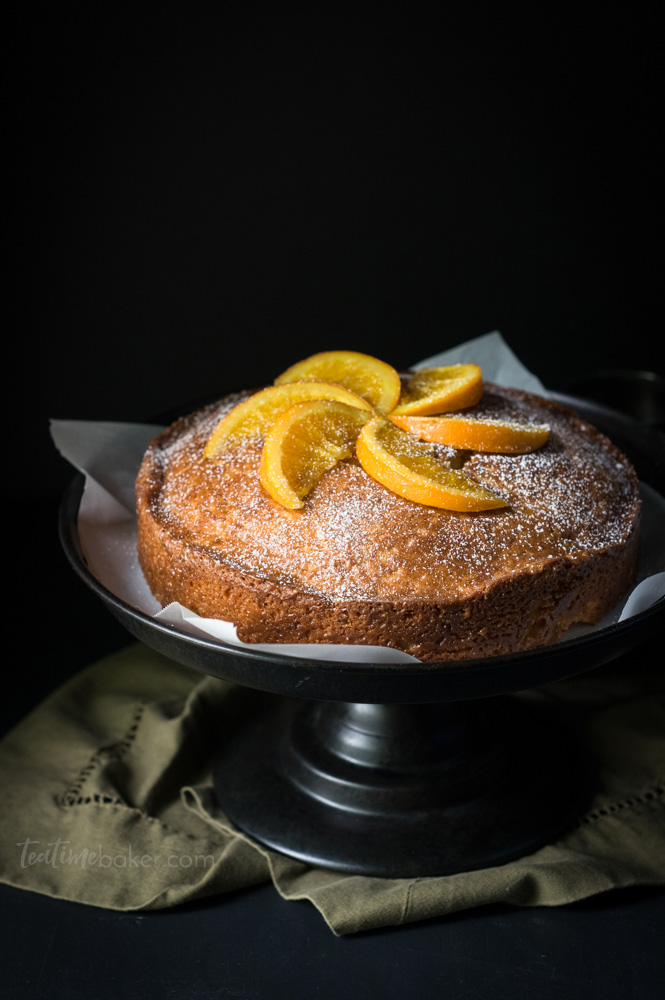 Simple, beautiful Orange Madeira Cake Recipe | Summer Cake Recipe | Orange Cake Recipe