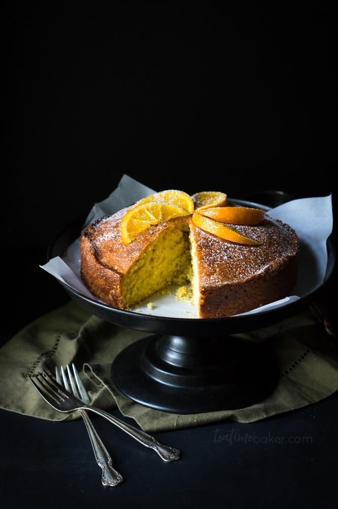 Delicious recipe for Orange Madeira Cake | Citrus Recipe | British Cake Recipe