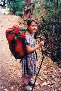 Me hiking in Nepal