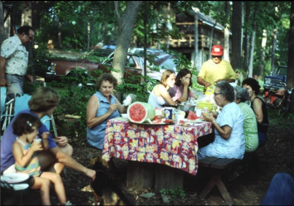 80s Picnic in the Woods
