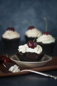 Black Forest Cupcakes are a simple but elegant dessert | Cupcakes Recipes