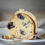 Lemon and blueberry are the ultimate summer flavor combinations | Bundt Cake | Cake Recipes | Brown butter Glaze