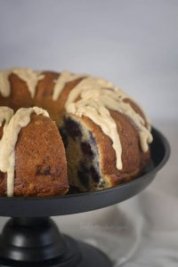 Fresh and flavorful Lemon Blueberry Bundt Cake is topped with a lemon brown butter glaze   Cake Recipes   Bundt Cake   Brown Butter Glaze