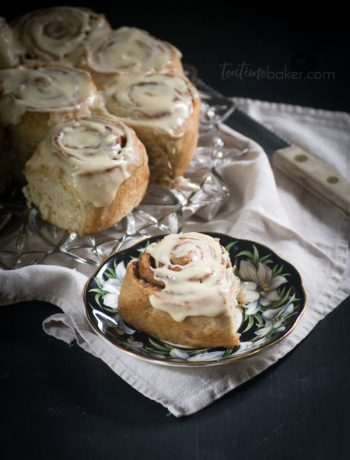 Caramel Iced Cinnamon Rolls are a wonderful Monday morning breakfast | Bread Recipe