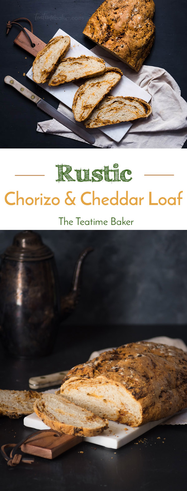 Rustic Chorizo and Cheddar Loaf