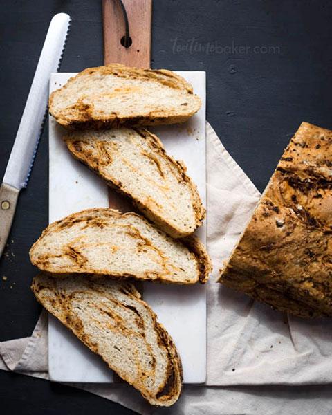 Rustic Chorizo and Cheddar Loaf