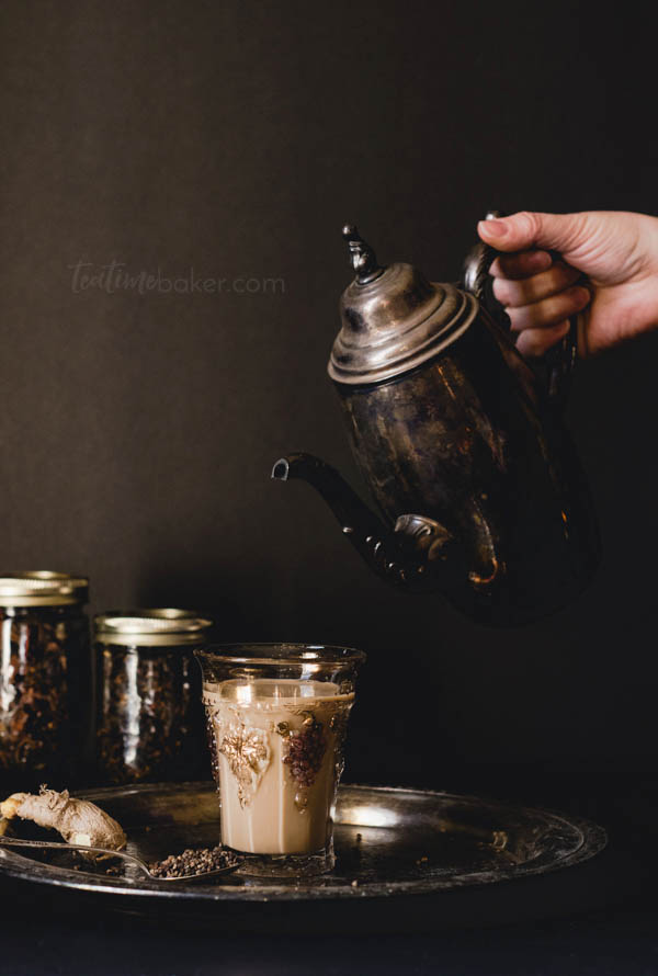 Hot chai with ginger and cardamom is just what you want as the nights get colder | Hot Tea Recipe
