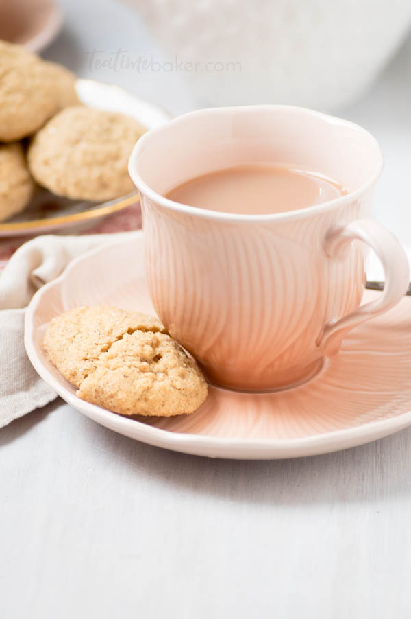 Chai Spice Cookies • The Teatime Baker
