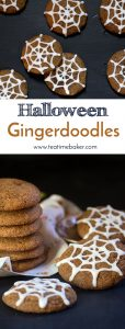 Sweet and Spicy Gingerdoodle Cookies are the ultimate fall treat! A deliciously spiced gingersnap cookie is rolled in cinnamon sugar to create a soft spicy cookie with a sweet crunch on the outside. | Snickerdoodle Gingersnap Cookies | The Teatime Bake | Holiday Cookies | Fall Cookies | Holiday Baking #sweetandspicygingerdoodlecookies
